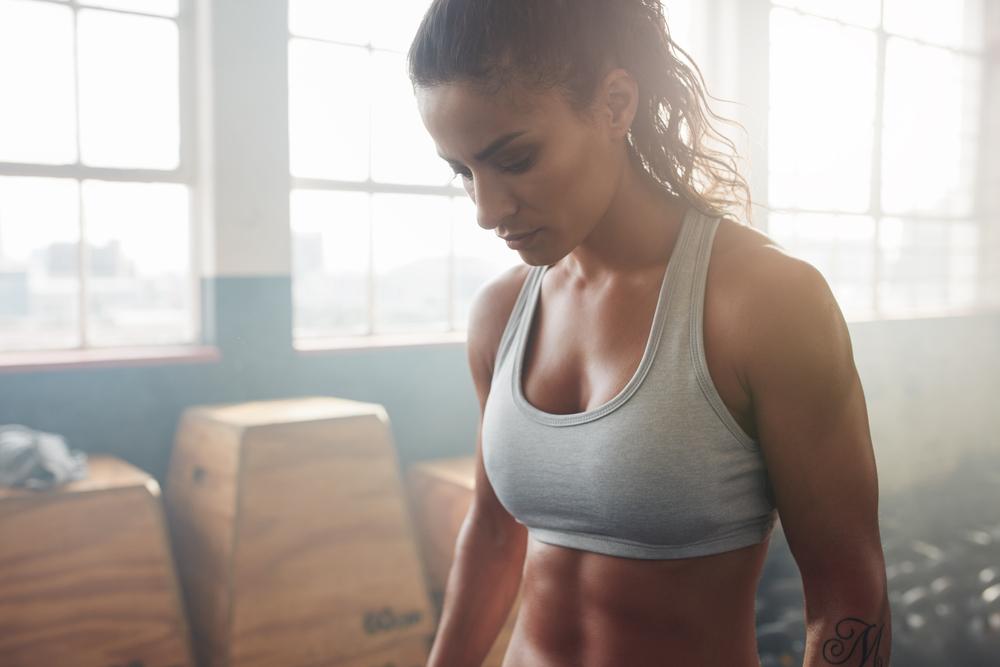 sports bra woman